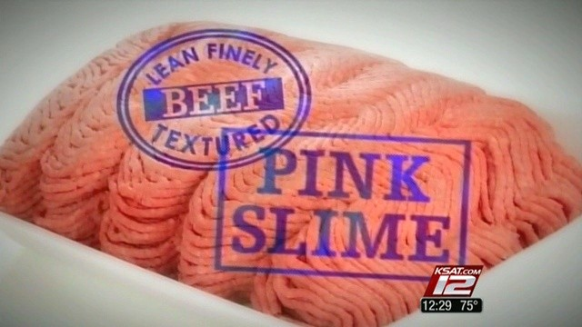 Pink Slime in Meat
