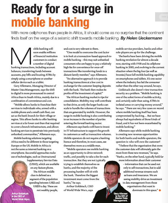 Feature: Are you ready for mobile banking