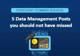 5 data management posts